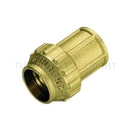 "RACCORDO DIRITTO F CW602N A COMPRES TUBO PE/PEHD/PEX Ø 25 X 3/4"" ISO7 - 3462DR TIEMME"