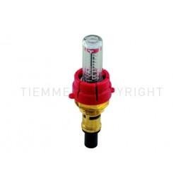 """FLUSSIMETRO NEW PER COLL 1/2"""" 1,0 - 5,0 L/MIN - H9709 TIEMME"""