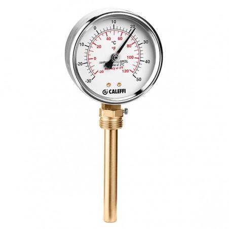 TERMOMETROØ80-30÷50°C(-22÷122°F) RADIAL 100